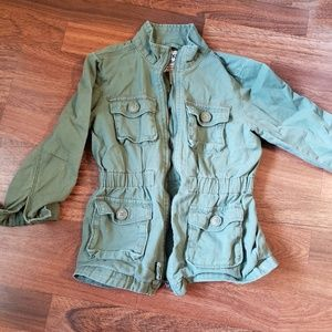 Girls olive Green Jacket